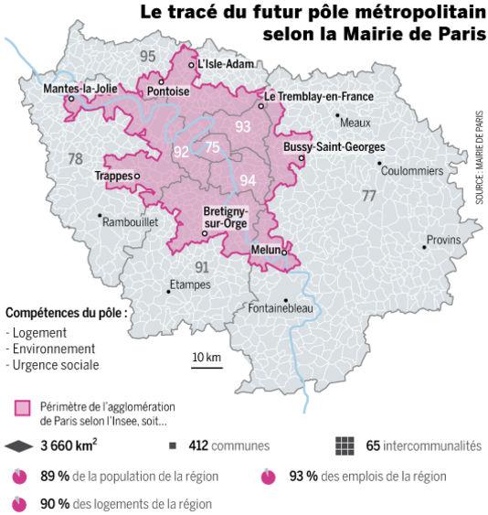 Paris Metropole 1784792_5_972b_le-trace-du-futur-pole-metropolitain-selon-la_a07723990644030b9254d8a71b39e7de